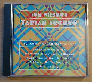 TOM WILSON - TARTAN TECHNO - CD ALBUM