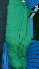 "The North Face Vintage Sleeping Bag Goose Down Green 92""×31"" 34oz Berkeley USA"