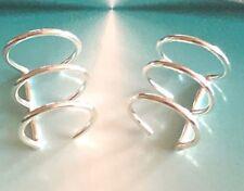 Sterling Silver.925  Ear Cuffs  3 Wire Band ~ $7.99 pair ~ High Polish