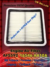 AF5592 CA9997 For IMPREZA WRX STI Forester Quality Engine Air Filter 16546-AA10A