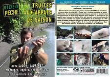 Truite aux appâts de saison avec Laurent Jauffret - Pêche de la truite - Vidéo P