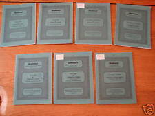 Glendining & Co. Coin Catalogues - 1987 - 7  in All!