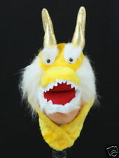 Chinese Animal Dragon Costume Party Warm Hat Mask Cap