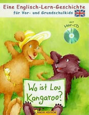 Wo ist Lou Kangaroo? Englisch Lernen für Kinder ab 4 mit Audio-CD Schule