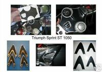 Triumph Sprint ST 1050 yoke protector & heel guard set