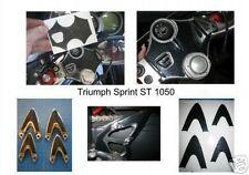 Triumph Sprint ST 1050 yoke protector & heel guard set