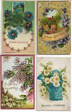 100 Vintage & Antique Greetings Postcards