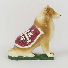 Slavic Treasures Texas A&M Aggies Reveille Ceramic Figurine New In Box