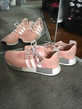 Adidas NMD R1 BY3059 Womens Vapor Pink Grey Onyx Boost size 10