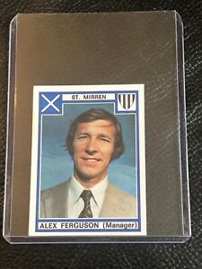 Panini - Football 78 - RARE MINT - Rookie Alex Ferguson #518 Sticker