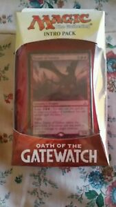 """NIP MAGIC THE GATHERING INTRO PACK """"OATH OF THE GATEWATCH """""""