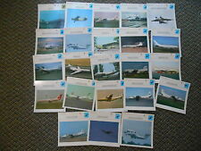 USSR Union Transport Utility Military Warplanes Aircraft Lot 23 Info Photo Cards