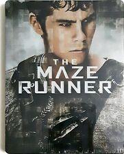 The Maze Runner Blu-Ray Dvd Sigillato Booksteel Edition Metallo