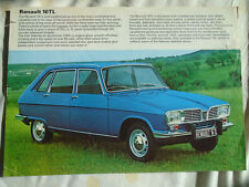 Renault 16 TL brochure Jul 1973