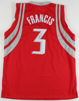 HOUSTON ROCKETS STEVE FRANCIS AUTHENTIC AUTOGRAPHED SIGNED JERSEY BECKETT 18885