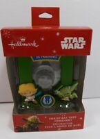 Star Wars Hallmark Christmas Ornament Jedi in Training Picture Frame 2015 New