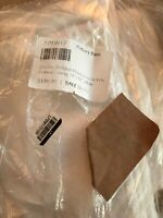Pottery Barn Belgian Flax White Linen Curtain Panel Cotton Lined 50X84 $109 NEW