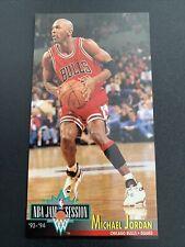 MICHAEL JORDAN 🔥🏀1993-94 Fleer NBA Jam Session #33 Chicago Bulls HOF Very Nice