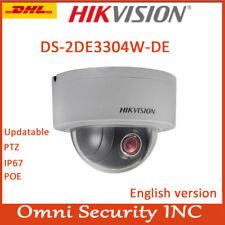 Hikvision DS-2DE3304W-DE 3MP DWDR Network P&P Mini PTZ Dome 4X POE Camera Outdor
