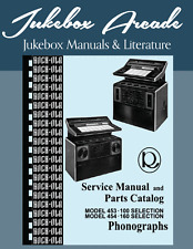 Rock Ola 453 - 100 Auswahlen und 454 - 160 Auswahl Service Manual & Parts