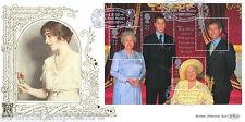 2000 Queen Mother M/S - Benham Gold (500) Official - DOUBLED with Memorial Set