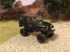 1976 Jeep CJ-7 Custom Lifted 4x4 Farm Truck 1/64 Diecast 4WD Mud Off Road CJ7