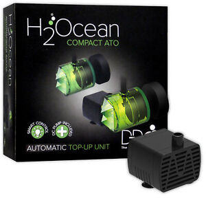 H2Ocean Compact ATO Auto Water Top Off / Up Pump System Aquarium Fish Tank
