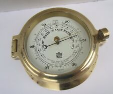 'Sewills Liverpool' Brass Wall Aneroid Barometer - for spares or repair