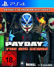 PS4 Spiel PAYDAY 2 – THE BIG SCORE inkl. 10 Premium DLC Packs NEUWARE