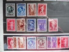 belgique belgie luchtpostzegels / poste aerienne 15/23A*