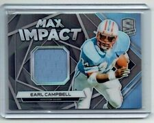Earl Campbell 2019 Panini Spectra Jersey Card