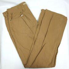 Men's 33x32 URBAN PIPELINE Straight Tan Khaki Chino Pants R110