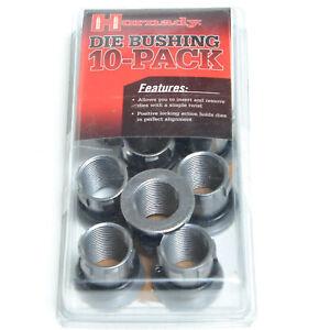 New Hornady Lock-N-Load Die Bushing 10 Pack 44096