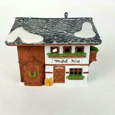 Dept 56 Alpine Village Milch Kase Milk and Cheese Building #6540-4