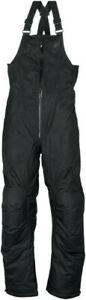 Arctiva Womens Pivot Insulated Snowmobile Pants Snow Bibs Black S
