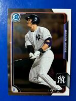 AARON JUDGE 2015 BOWMAN CHROME DRAFT #150 ROOKIE RC