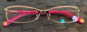 D&G reading glasses ladies pink in vgc