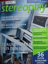 STEREOPLAY 5/01,TEUFEL THEATER 5 THX ULTRA,M 660,M 300 D,M 8000,THETA DAVID,CASA