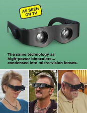 Zoomies Hands Free Binoculars 4X Magnification Zoom Enlarge Glasses Telescopes