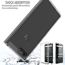 Shockproof Silicone Clear Phone Case for Blackberry KEYone Slim Soft TPU Cover