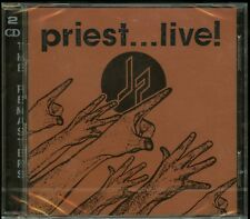 Judas Priest Priest Live 2 CD new European Remaster Priest...Live!