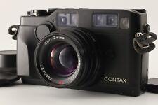 【Near Mint】 Contax G2 Black 35mm Camera w/Planar 45mm F2 From Japan #1768