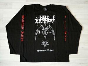 HELLHAMMER - Satanic rites Long sleeve shirt (L) Thrash Death Metal Celtic Frost