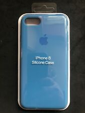 Apple iPhone 7/8 Silicon Original Apple Case Genuine Apple Cover - Denim Blue