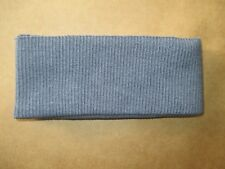 Ribbing REPLACEMENT Bottom Band for Jumper Wincheater Jacket 2x2 Rib Grey 33x7cm