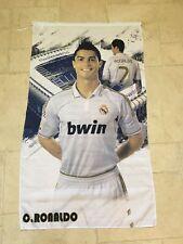 REAL MADRID CHRISTIANO RONALDO SOCCER FOOTBALL Flag 6' by 3'