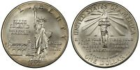 1986-S $1 Statue Of Liberty Mint State Commemorative Silver Dollar