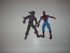 New ListingToybiz/Hasbro Marvel Spider-Man & Green Goblin Action Figures 1997 2009
