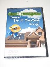 "Green ""Do It Yourself"" Energy DVD DIY Brand NEW"