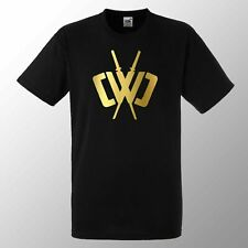 Chad Wild Clay CWC Ninja Kids T Shirt Top Youtuber Gamers Minecraft t shirt Gold